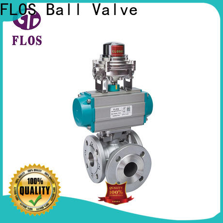 FLOS highplatform three way valve Suppliers for closing piping flow