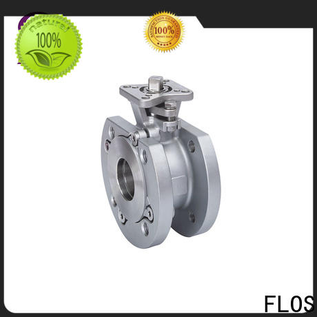 FLOS valveflanged 1 piece ball valve Supply for opening piping flow