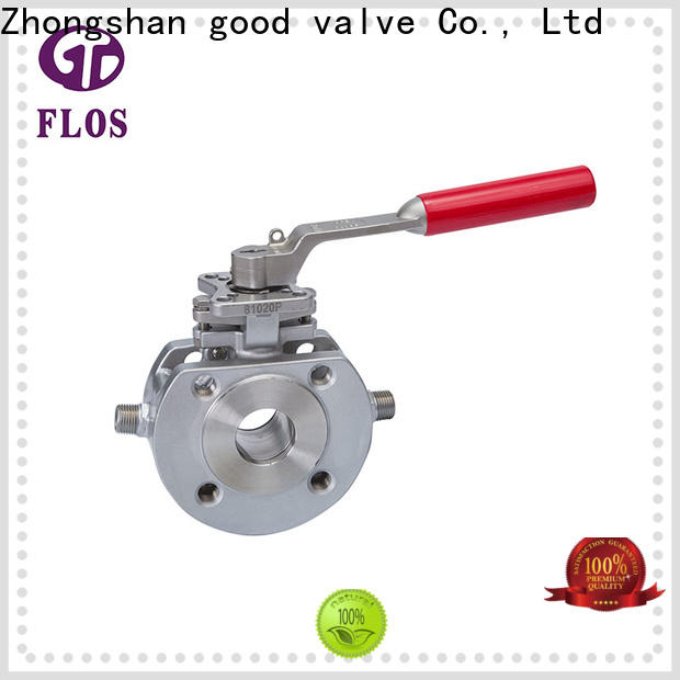 FLOS steel one piece ball valve Supply for directing flow