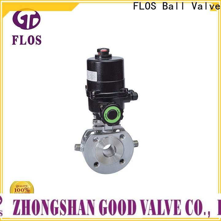 FLOS switchflanged 1 pc ball valve company for opening piping flow