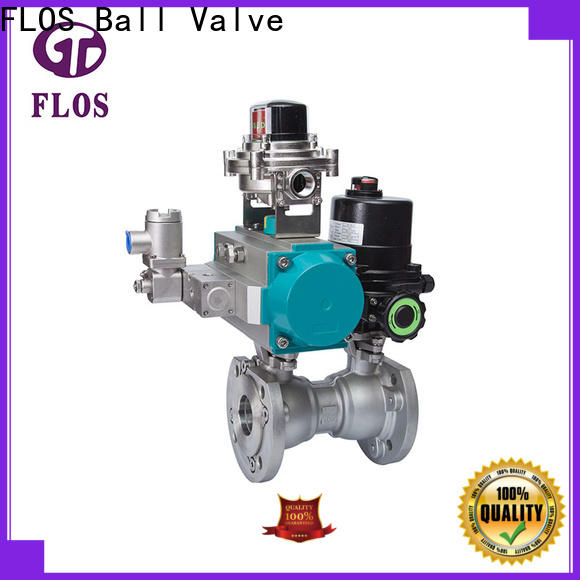 FLOS New one piece ball valve manufacturers for closing piping flow