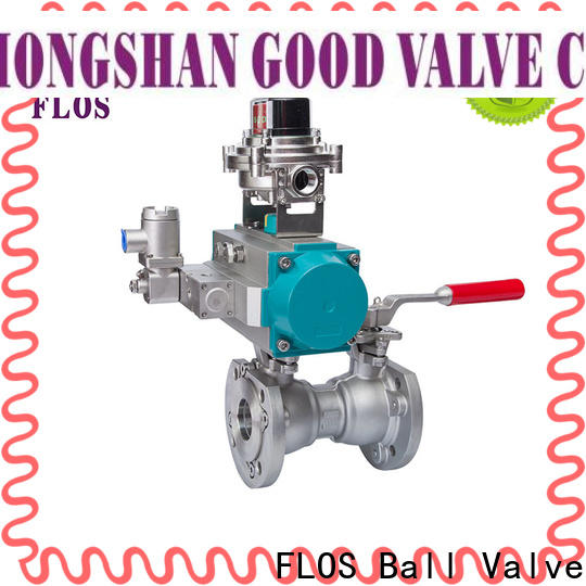 FLOS Top uni-body ball valve Suppliers for opening piping flow