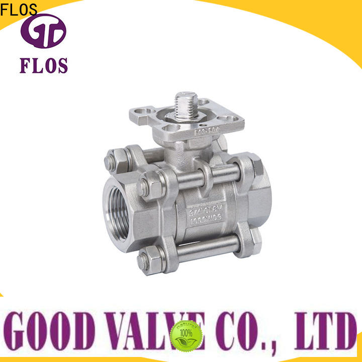 FLOS High-quality stainless valve for business for closing piping flow