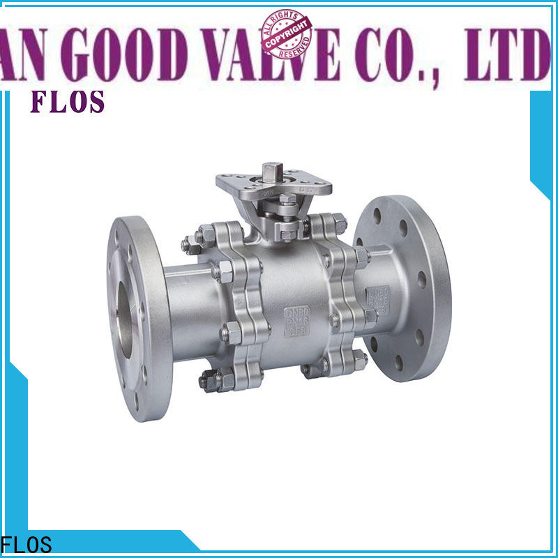 FLOS pneumaticworm stainless valve company for closing piping flow