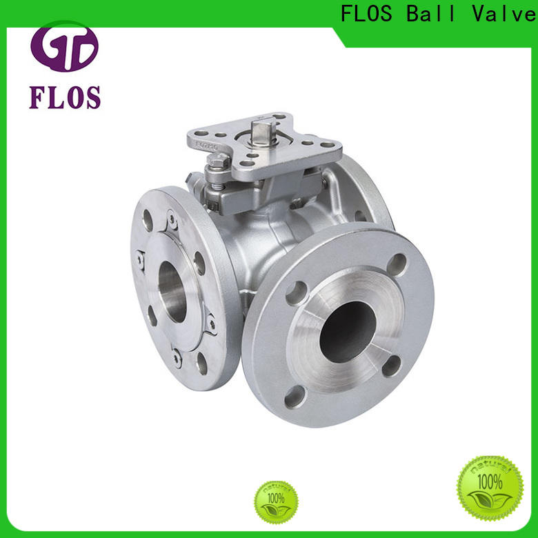 FLOS ends three way ball valve manufacturers for closing piping flow