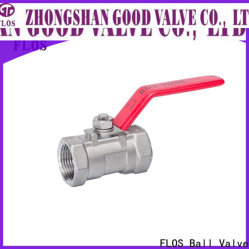 Wholesale single piece ball valve stainless Supply for opening piping flow