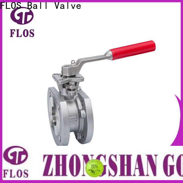 FLOS economic 1 pc ball valve Supply for opening piping flow