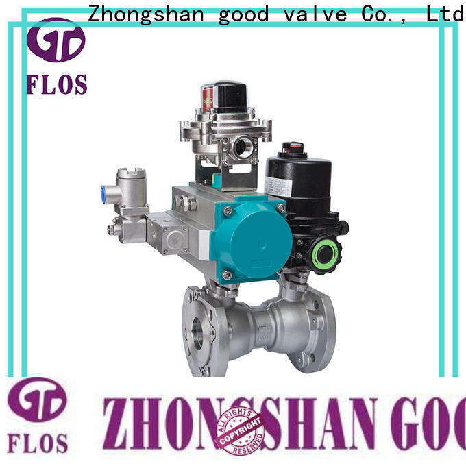 FLOS highplatform flanged gate valve company for closing piping flow