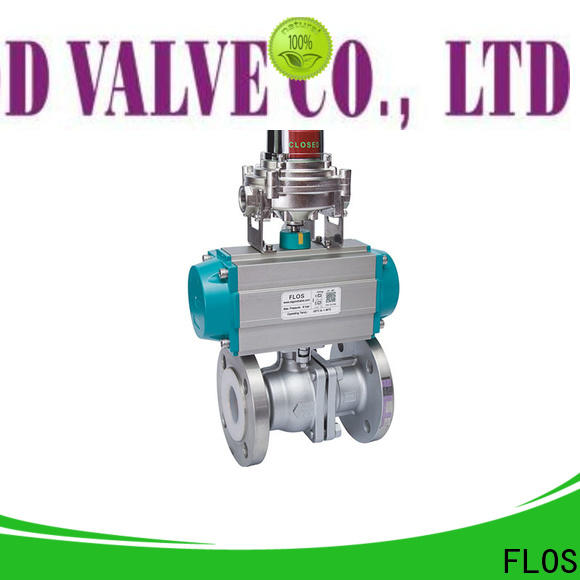 FLOS switchflanged ball valves manufacturers for closing piping flow