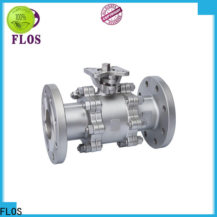 FLOS switch 3 piece stainless ball valve Supply for directing flow