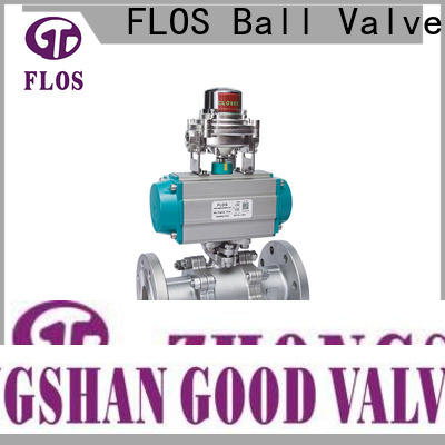 FLOS pneumaticworm 3-piece ball valve Supply for directing flow