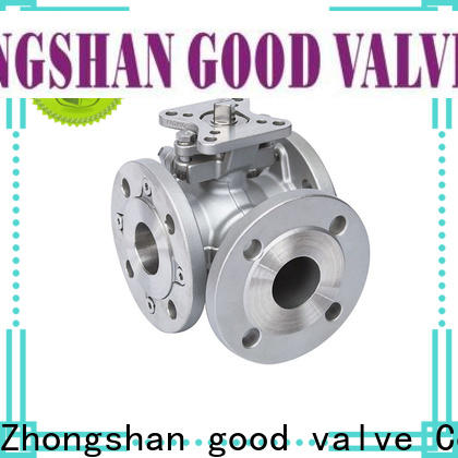 Custom 3 way valves ball valves steel Supply for opening piping flow