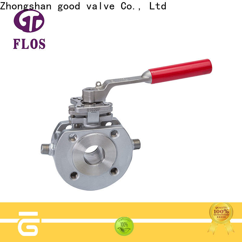 Custom one piece ball valve steel Supply for directing flow