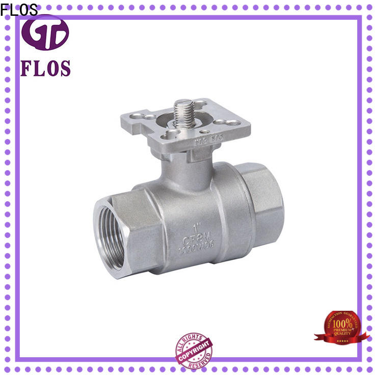 FLOS New stainless steel ball valve Supply for opening piping flow