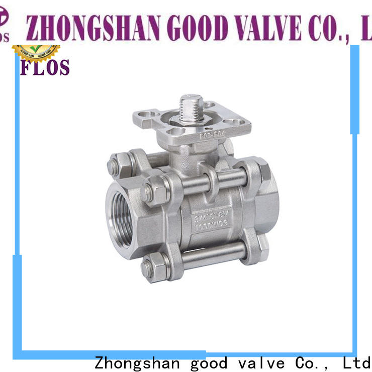 Best 3 piece stainless steel ball valve pneumaticworm Suppliers for closing piping flow