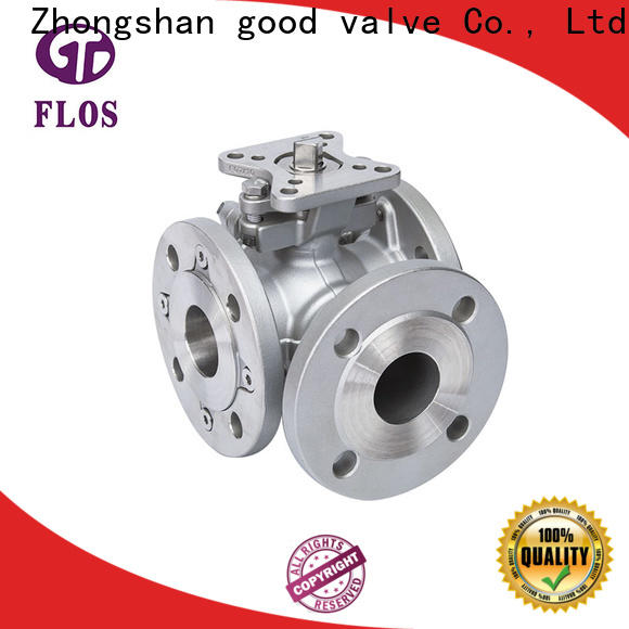 FLOS ends 3 way ball valve manufacturers for opening piping flow