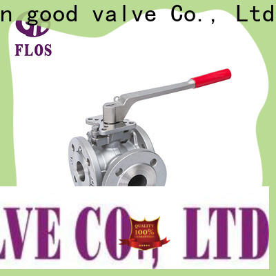 FLOS New three way valve company for closing piping flow