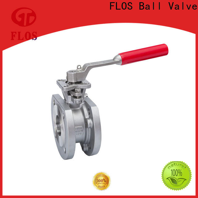 FLOS pc 1-piece ball valve factory for closing piping flow