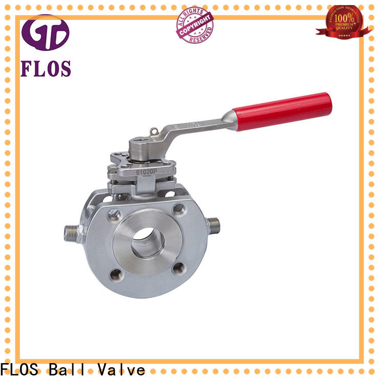 FLOS steel valves company for closing piping flow