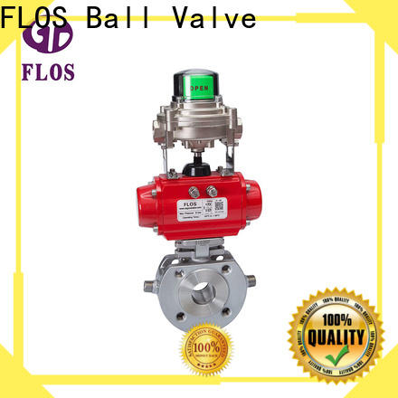 FLOS openclose single piece ball valve for business for directing flow