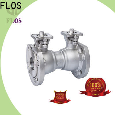 FLOS Latest 1 pc ball valve factory for closing piping flow