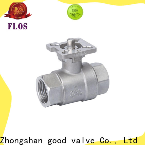 FLOS pneumaticworm ball valve manufacturers company for opening piping flow