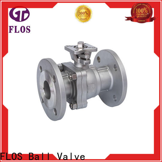 FLOS pneumatic ball valves factory for opening piping flow