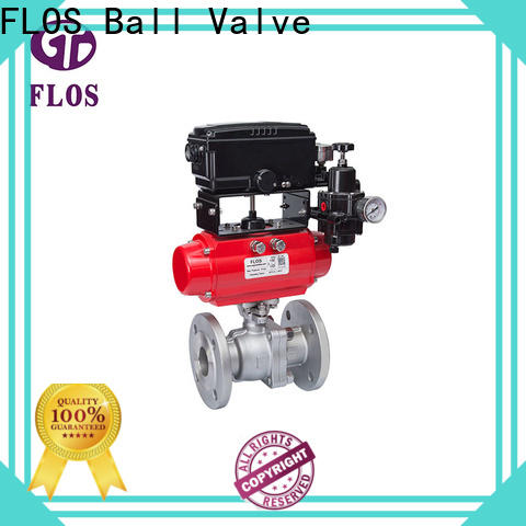 FLOS Wholesale 2 piece stainless steel ball valve Suppliers for closing piping flow