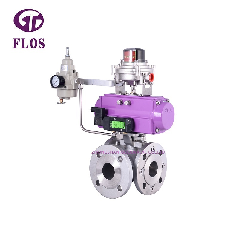 FLOS Custom multi-way valve company for closing piping flow-1