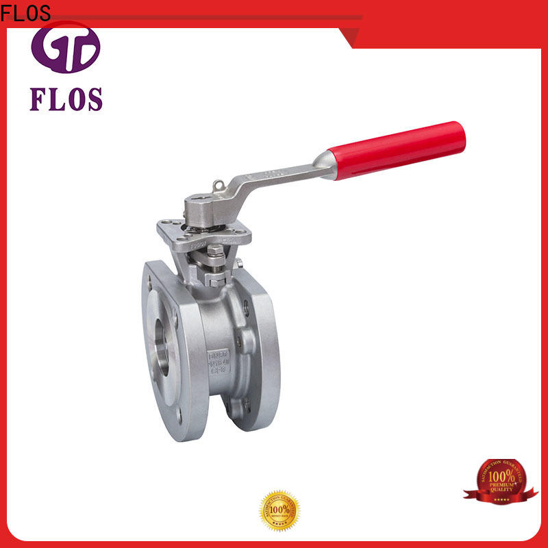 FLOS double one piece ball valve Suppliers for opening piping flow