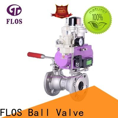 Custom 1 pc ball valve pneumaticmanual manufacturers for opening piping flow