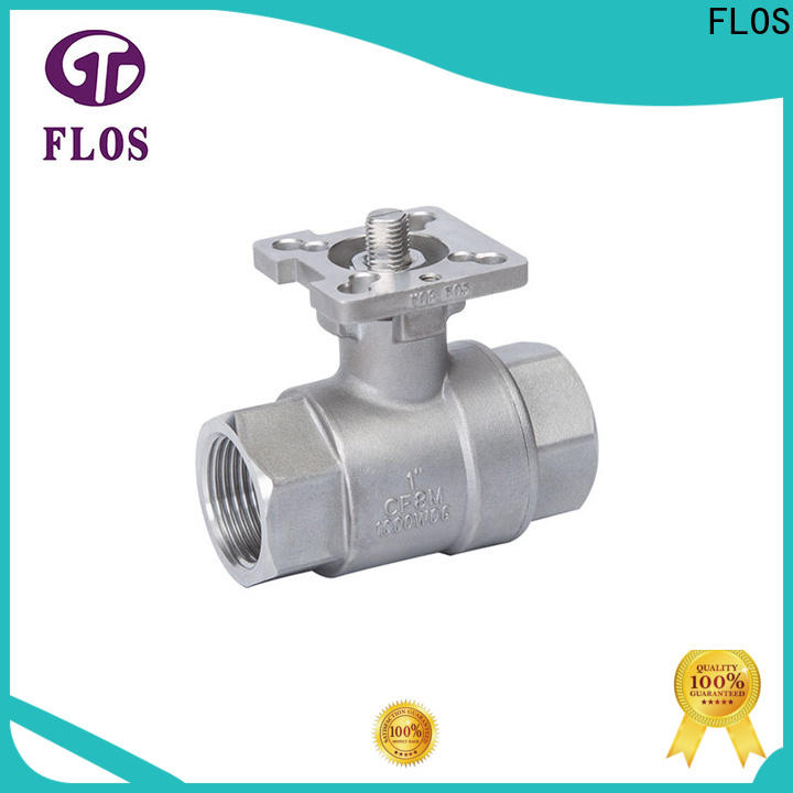 FLOS High-quality stainless ball valve for business for closing piping flow