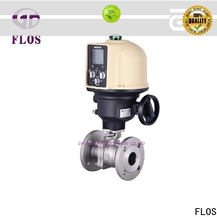 FLOS Top ball valves company for closing piping flow