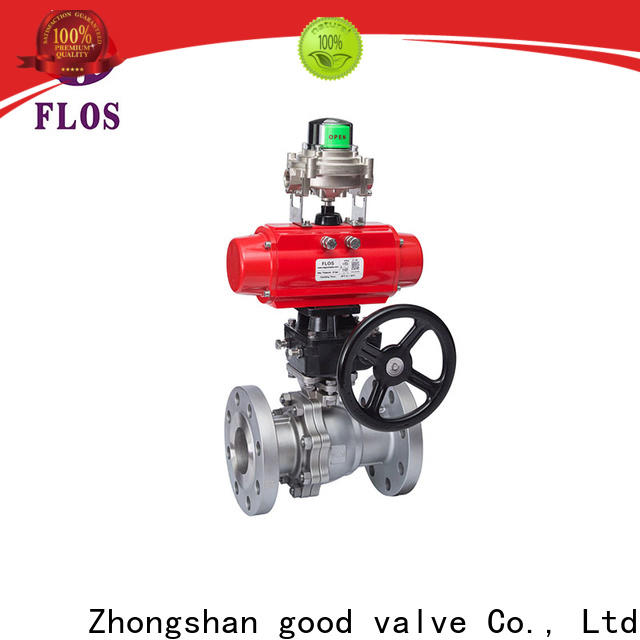 FLOS flanged stainless ball valve company for directing flow