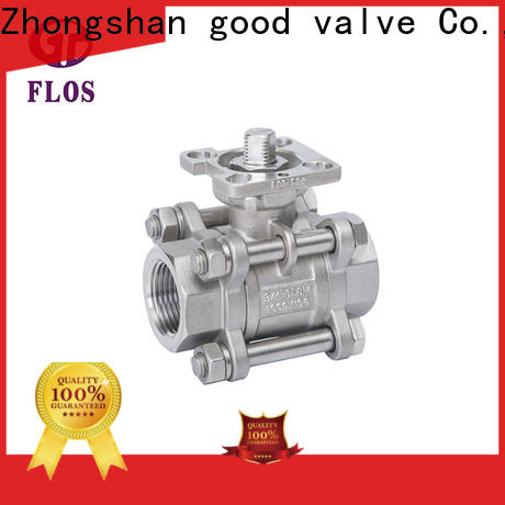 FLOS Best three piece ball valve manufacturers for closing piping flow