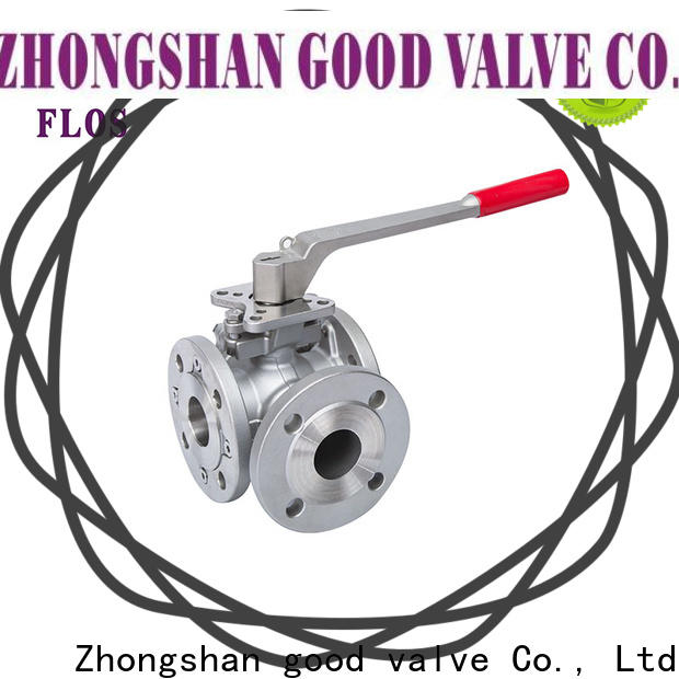 Best flanged end ball valve stainless Supply for closing piping flow