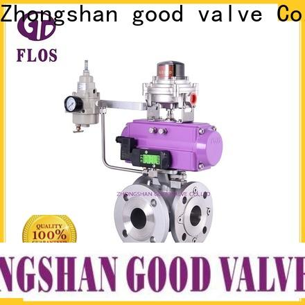 New 3 way valves ball valves switchflanged Supply for directing flow