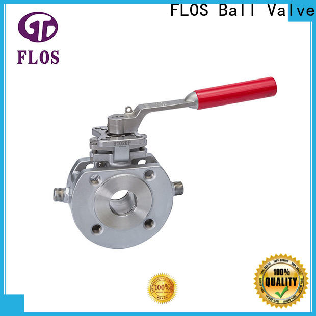FLOS stainless one piece ball valve Suppliers for opening piping flow