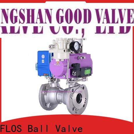 FLOS pc 1 piece ball valve company for directing flow