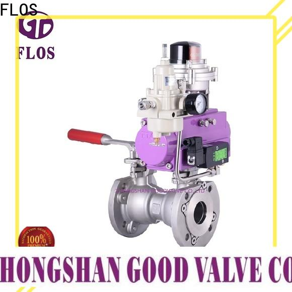 FLOS manual professional valve company for closing piping flow