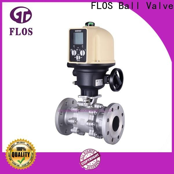 FLOS ends 3 piece stainless ball valve manufacturers for closing piping flow