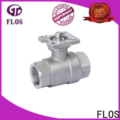 FLOS Top stainless ball valve for business for closing piping flow