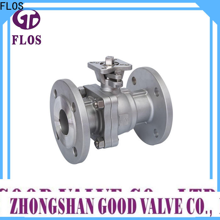 FLOS pneumatic 2-piece ball valve Supply for closing piping flow