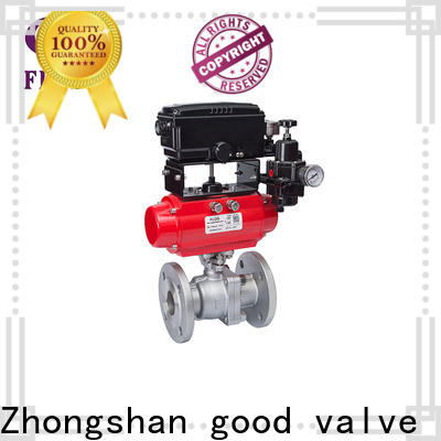 FLOS pneumaticworm stainless steel ball valve Supply for opening piping flow