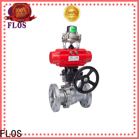 Top two piece ball valve switchflanged factory for opening piping flow