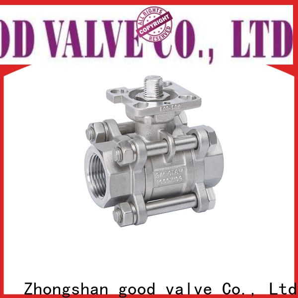 FLOS High-quality 3 piece stainless steel ball valve factory for closing piping flow