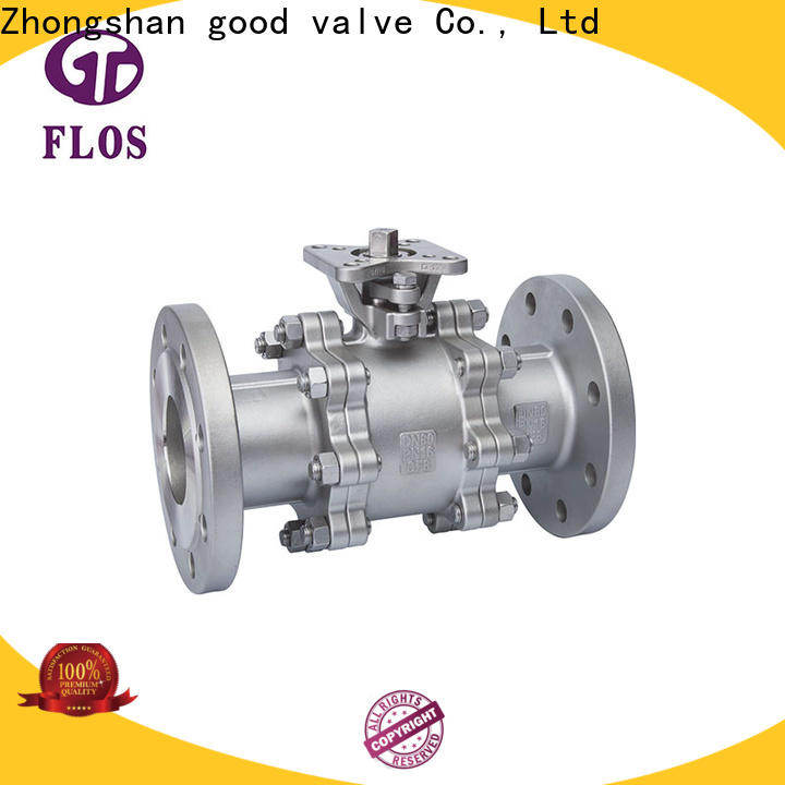 New three piece ball valve pneumaticworm factory for directing flow