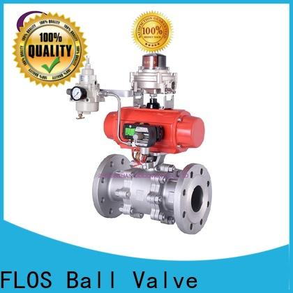 Top 3 piece stainless ball valve switchflanged company for closing piping flow