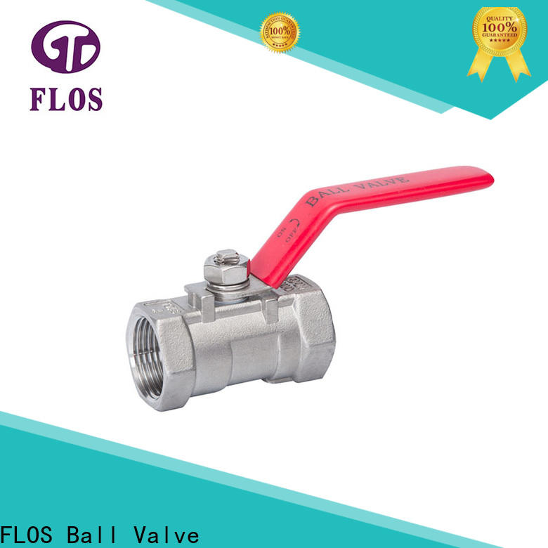 FLOS Wholesale single piece ball valve manufacturers for opening piping flow