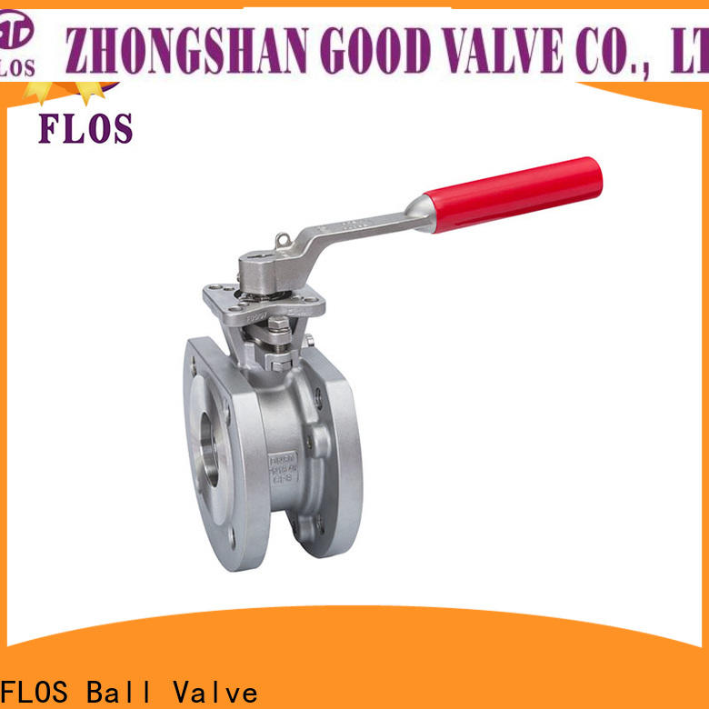 FLOS openclose 1 pc ball valve manufacturers for closing piping flow